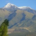 Mt. Cotacachi with snow